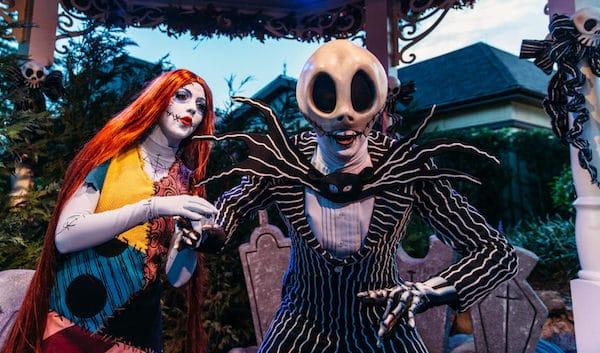 Mickey's Not So Scary Halloween Party - Jack Scallington and Sally
