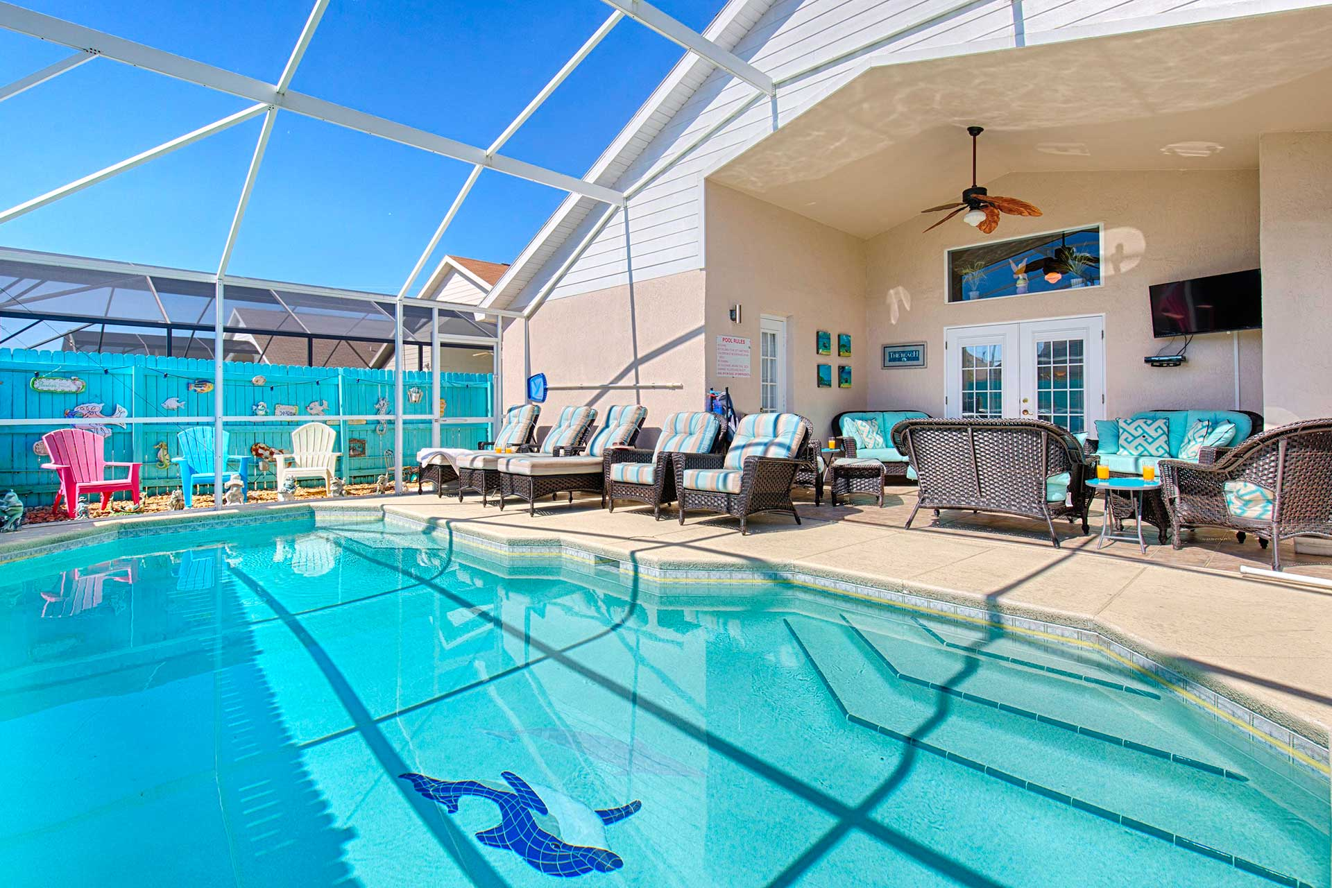 Orlando Home Rental - Totally Private Pool