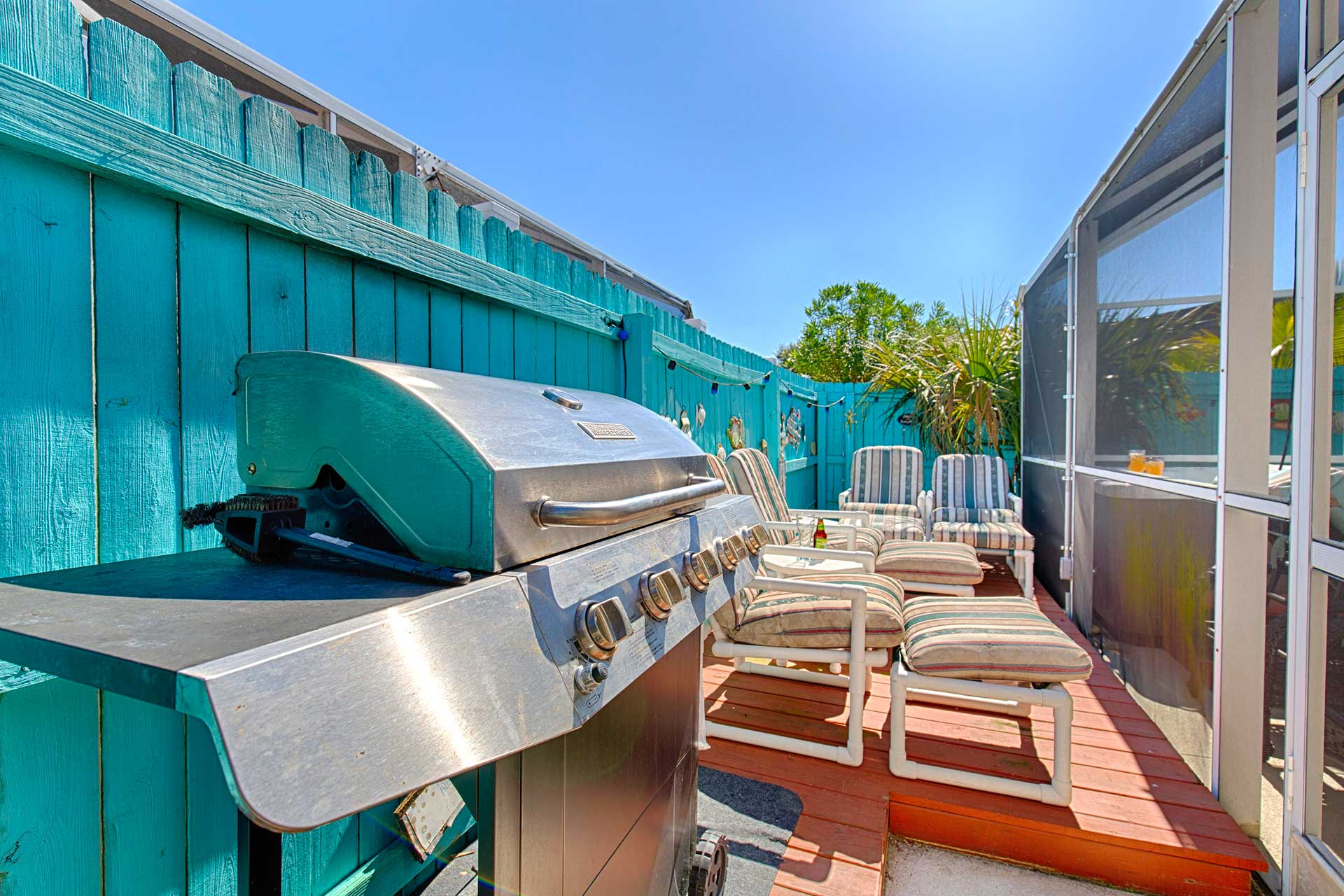 BBQ Grill Orlando Rental Home