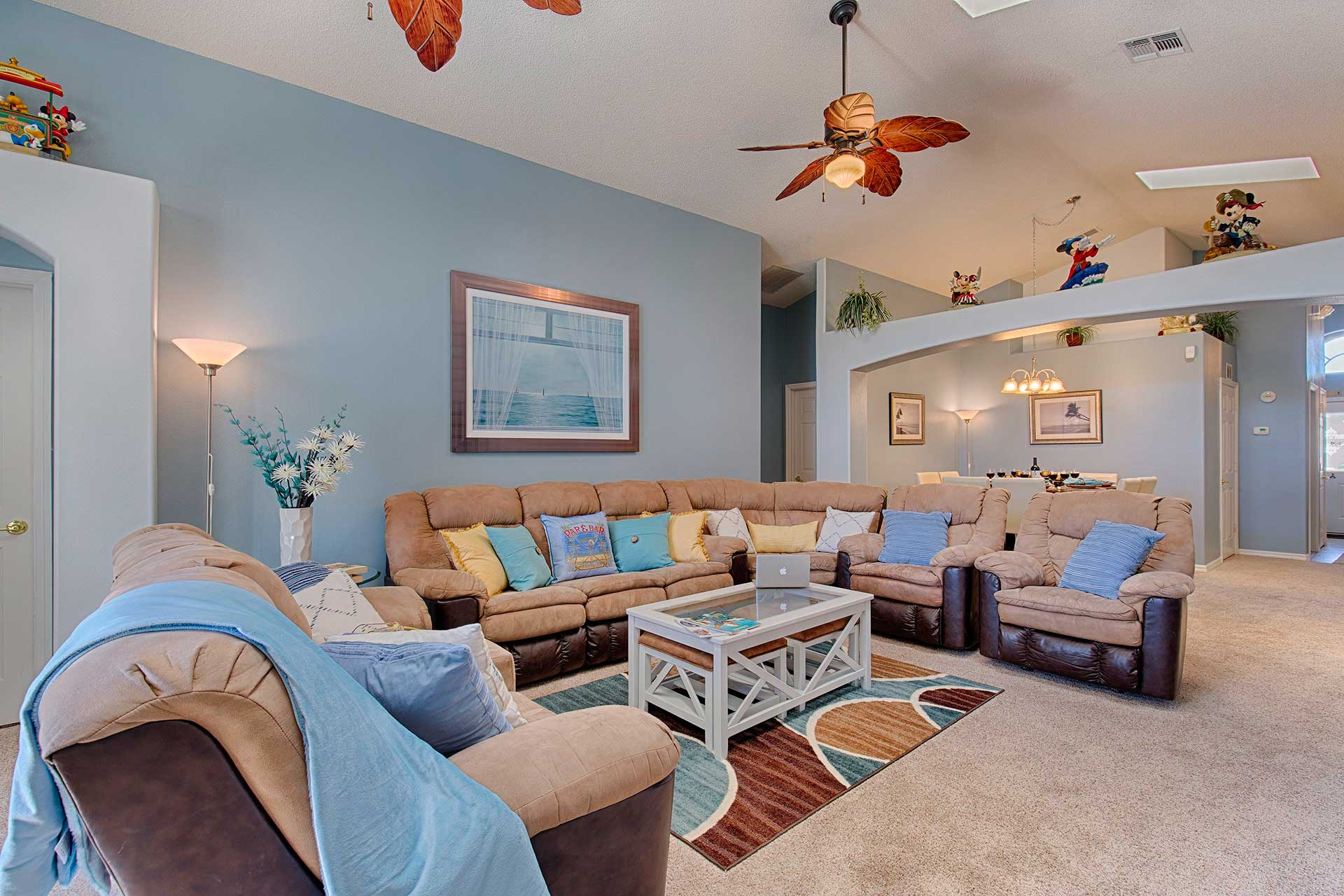 Open Plan Living Orlando Vacation Rental Home