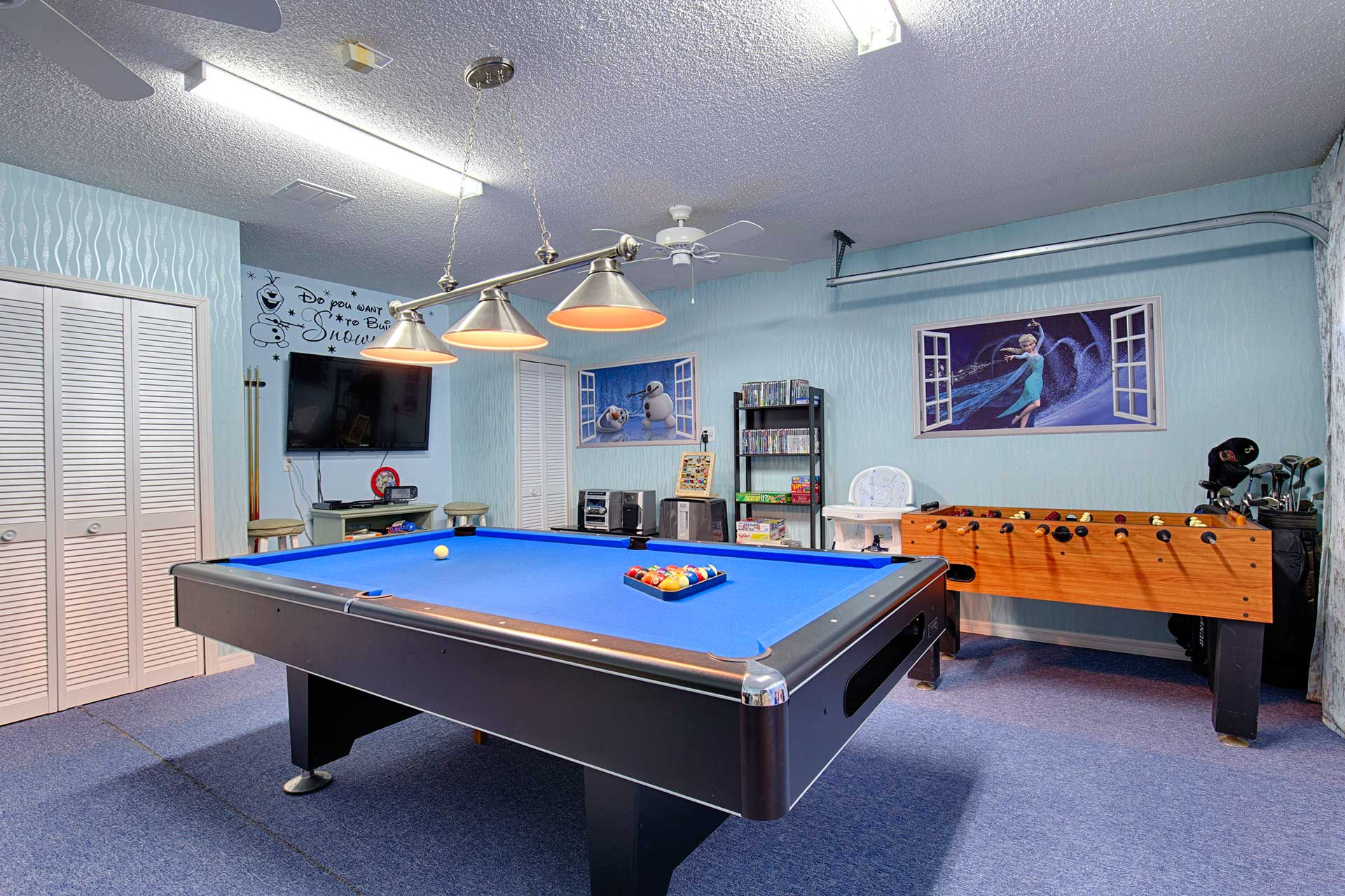 Slate Pool Table Orlando Vacation Home