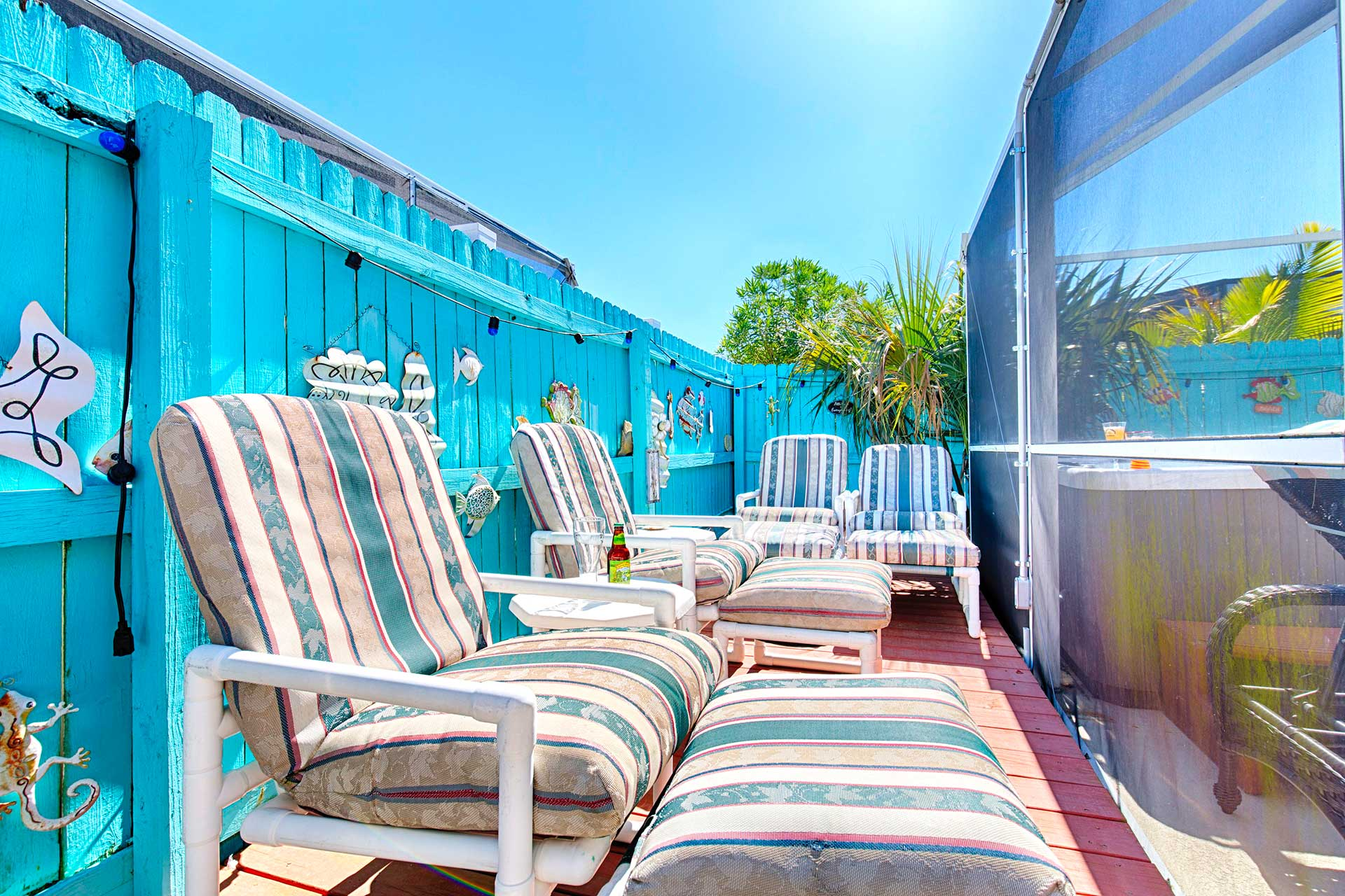 Sun deck Orlando Rental Home