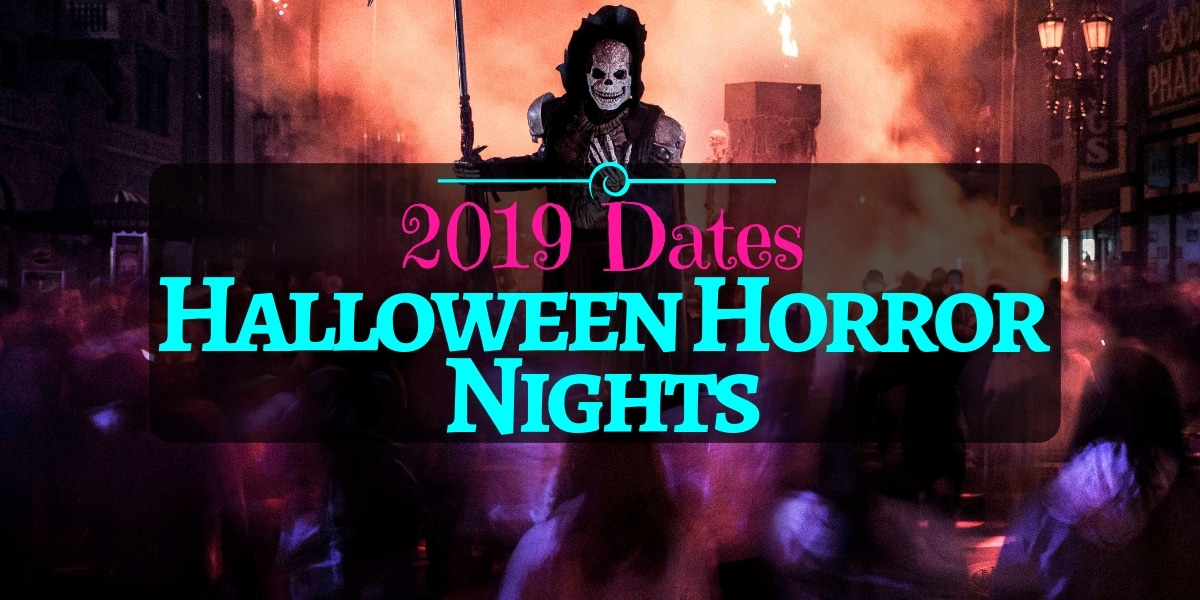 2019 Halloween Horror Nights Set to Start Earlier Than Ever