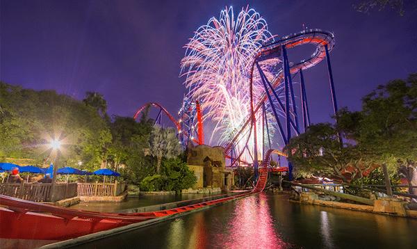 4th of July in Orlando: Busch Gardens Tampa