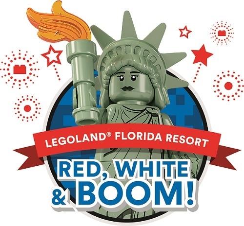 4th of July in Orlando - LegoLand Red White & Boom