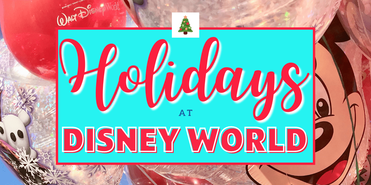 Christmas at Walt Disney World 2019