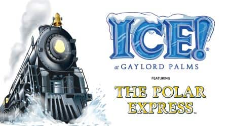 ICE! Polar Express Gaylord Palms 2019 Events