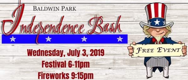 July 4th in Orlando Baldwin Park