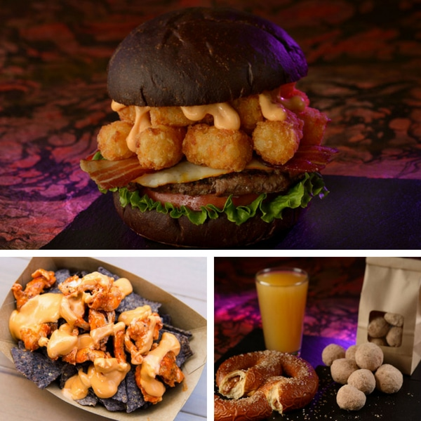 Mickey's Not So Scary Halloween Party Food