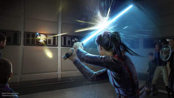 New Disney Star Wars Resort Lightsaber