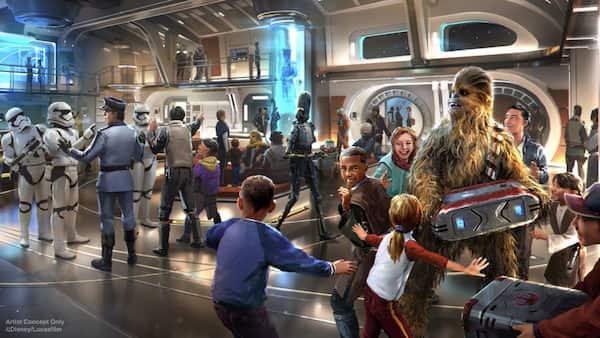 New Disney Star Wars Resort Meet Characters