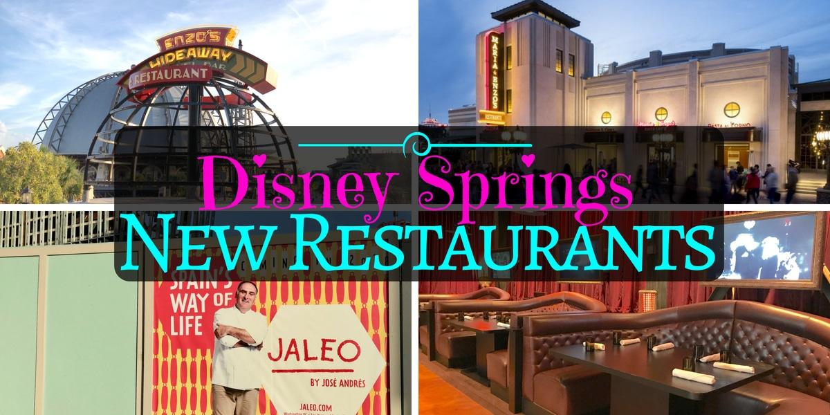 New Restaurants At Disney Springs Orlando Insider Vacations