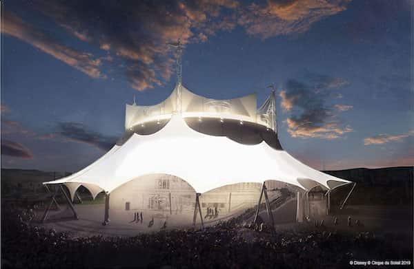 New at Disney World Cirque du Soleil
