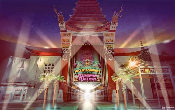 New at Disney World Mickey and Minnies Runaway at Hollywood Studios