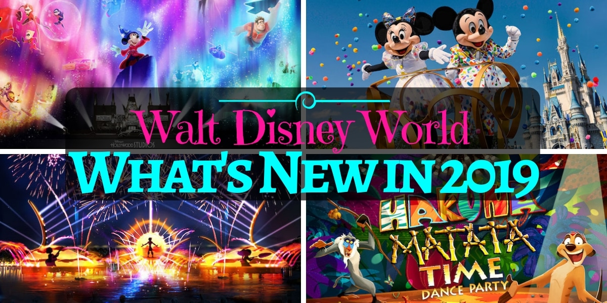 What's New at Disney World in 2019 - So Many Things Coming