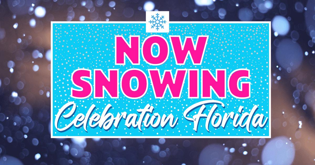 Orlando Christmas Radio 2020 Now Snowing in Celebration 2020 – Winter Wonderland   Orlando