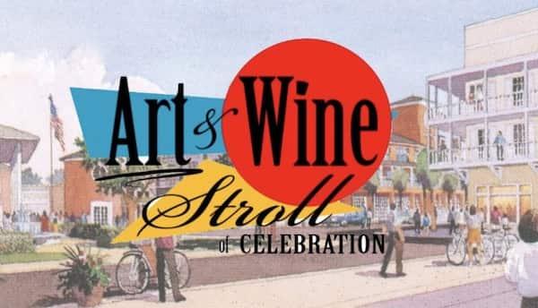 October in Orlando Celebration Art Wine Stroll