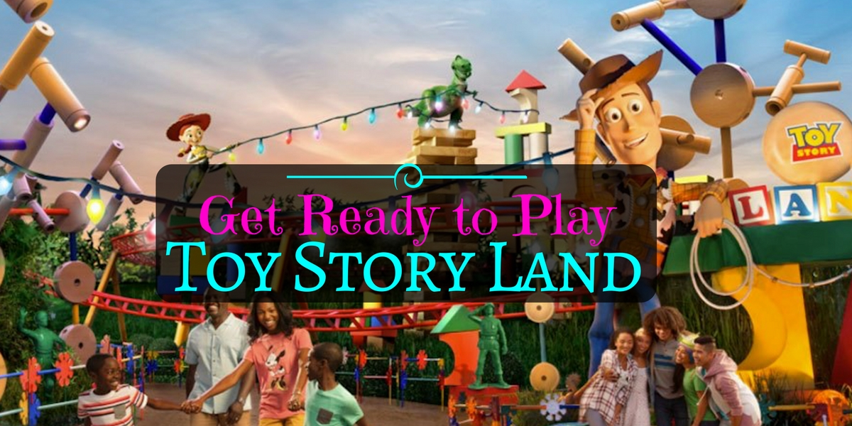 Toy Story Land To Infinity And Beyond
