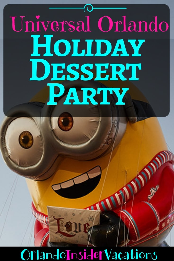 Universal Holiday Dessert Party