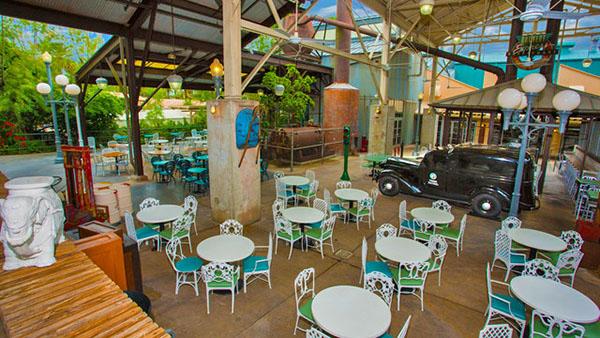 Vegetarian and Vegan Dining in Orlando & Kissimmee - Backlot Express at Hollywood Studios