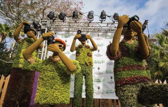 Busch Gardens Food and Wine Festival Topiaries