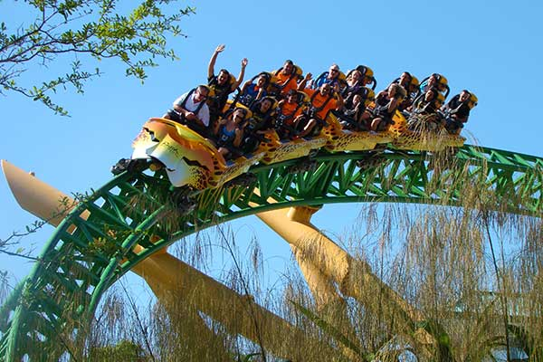 Busch Gardens Tampa Cheetah Hunt