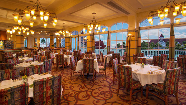 Vegetarian and Vegan Dining in Orlando & Kissimmee - Citrico's at Grand Floridian