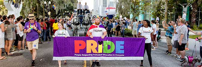 Orlando in October - Come Out With Pride Festival