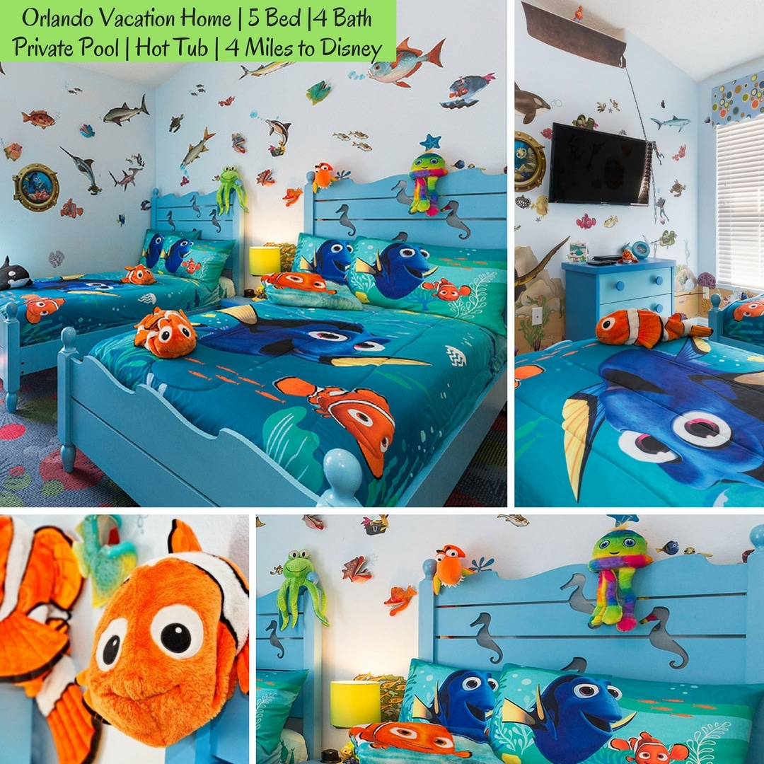 Etonnant Finding Nemo Bedroom Orlando Vacation Rental Homes