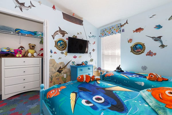 Finding Nemo Bedroom With 42 Inch HDTV Playtation