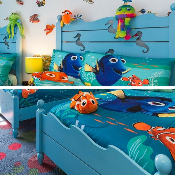 Finding Nemo Bedroom With Carved Theme Beds