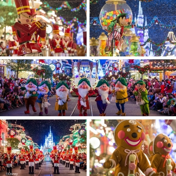 Christmas at Walt Disney World - Mickey's Very Merry Christmas Party Parade