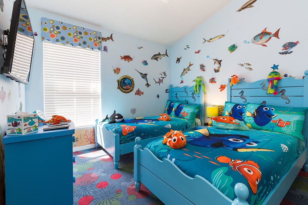 Finding Nemo Bedroom The Kids Will Adore Sleeping Here