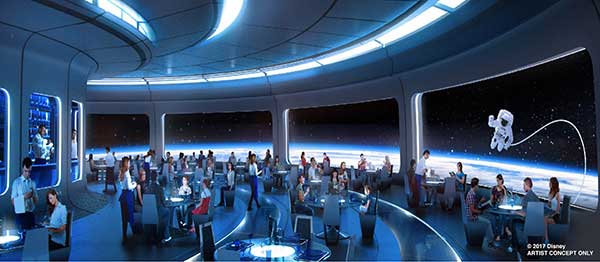 New Reasons to Visit Walt Disney World - Epcot Space Restaurant