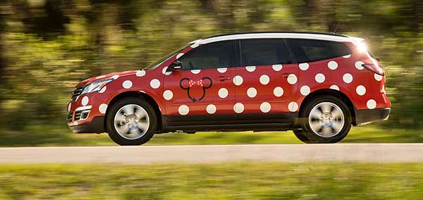 New Reasons to Visit Walt Disney World - Minnie Van
