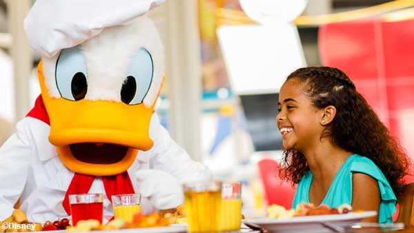 Orlando Family Vacation - where to eat with kids