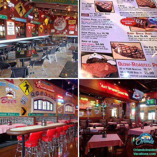 Orlando Family Vacation - Mannys Chop House