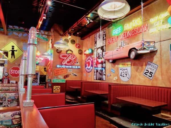 Orlando Family Vacation - Mannys Chophouse Kissimmee
