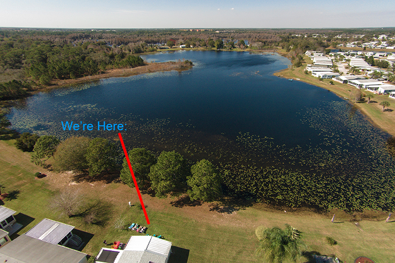 Serenity Lake House, Kissimmee Orlando Rental with Lake Views