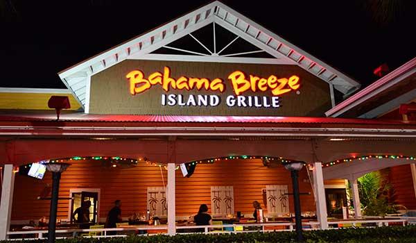 Orlando Restaurants Bahama Breeze