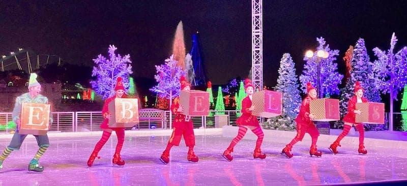 SeaWorld Orlando Christmas Celebrations - Winter Wonderland on Ice