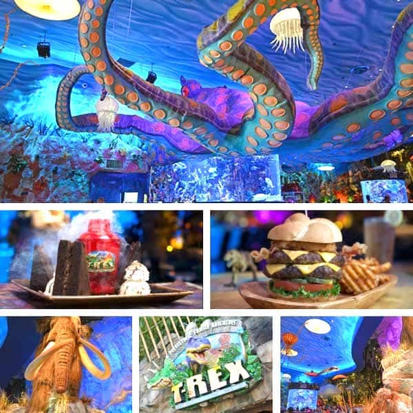 Themed Restaurants In Orlando T Rex Disney Springs