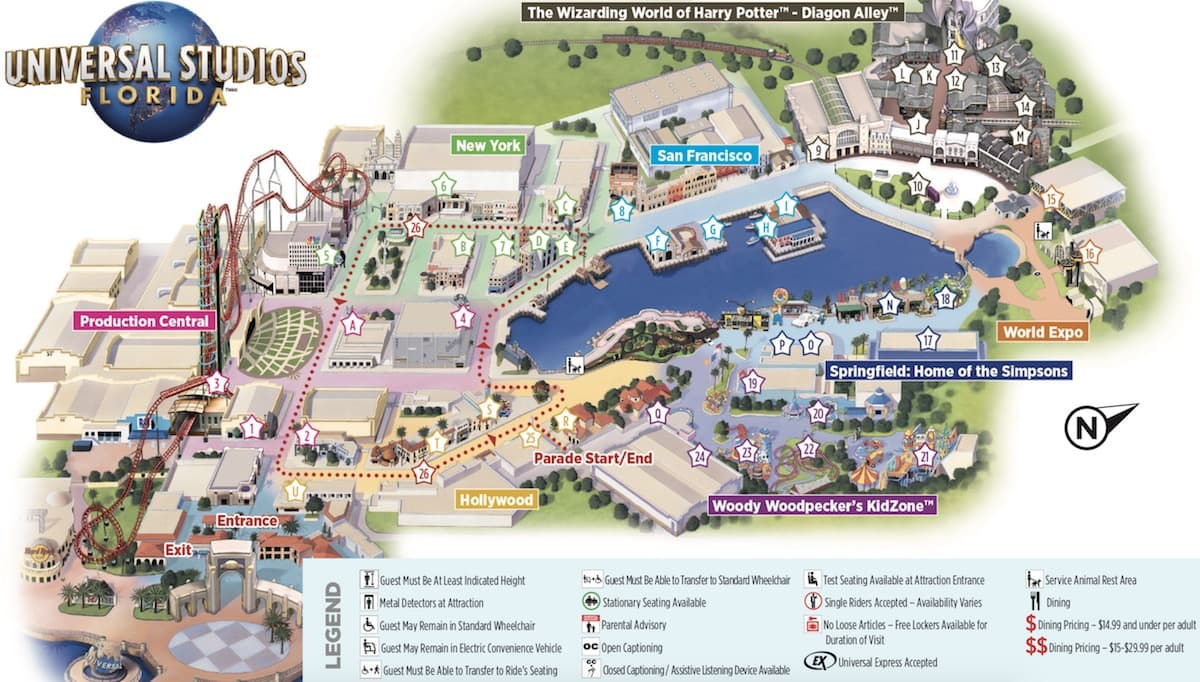 Orlando Insider Vacations Guide To Universal Studios
