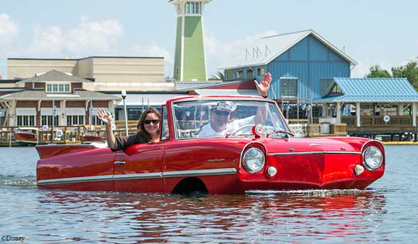 Valentine's Day at Walt Disney - Amphicar